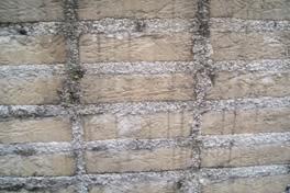 未施工の外壁